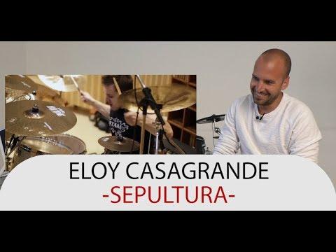 Download Drum Teacher Reacts to Eloy Casagrande - Drummer of Sepultura Mp4 baru