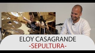 Drum Teacher Reacts to Eloy Casagrande - Drummer of Sepultura