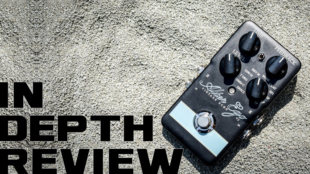tc electronic alter ego v2 delay pedal review youtube. Black Bedroom Furniture Sets. Home Design Ideas