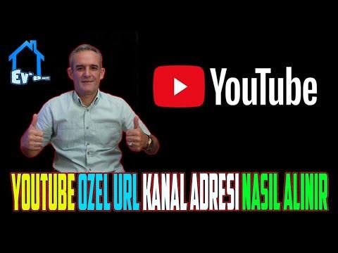 Youtube Kanal URL' si Oluşturma ( Videolu Anlatım ) Güncel 2015