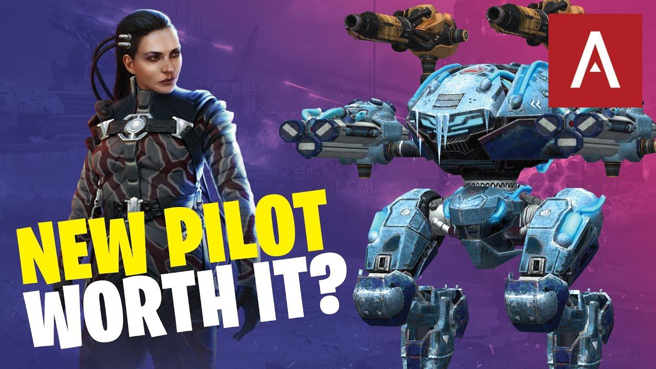 War Robots - Should You Buy The NEW Leech Pilot? WR Max Gameplay