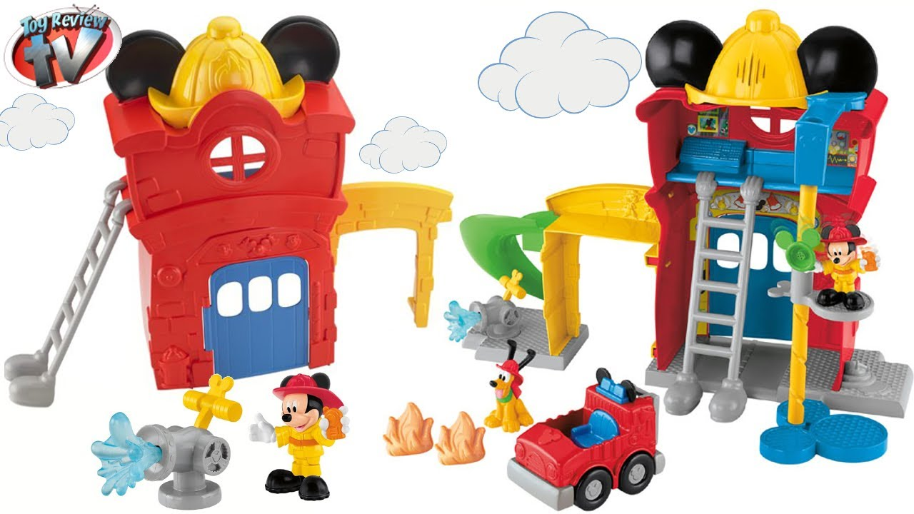 DISNEY JUNIOR MICKEY MOUSE CLUBHOUSE Funny Firehouse ...
