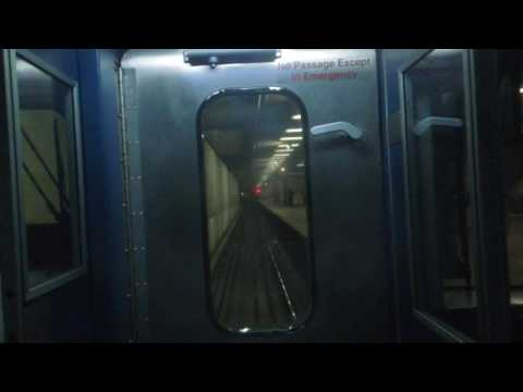 MARTA: On-Board Red Line from West End to Dunwoody (rear view)
