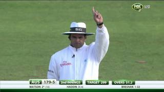 Fourth Ashes Test, day four highlights