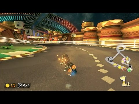Mario Kart 8 Deluxe: 3DS Music Park [1080 HD]