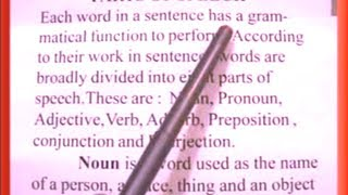 English Grammar - Rules on Part Of Speech,Common Error  (SSC,SBI PO,Delhi Police,Air Force,Army,CDS)