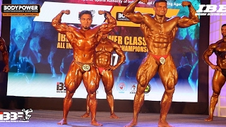 IBBF BodyPower Classic 2017 Top 10 Finals | Posing | Comparision and Results