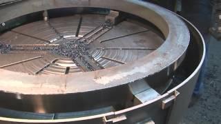 Modernisierung einer Karussell-Drehmaschine, Rottler Maschinenbau