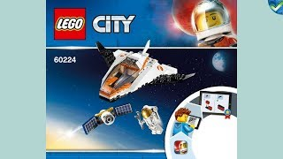 60224 Satellite Service Mission LEGO^ City Manual at the Brickmanuals  nstruction Archive