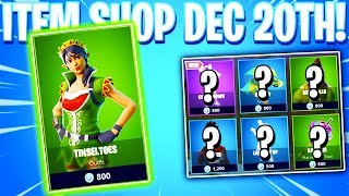 Fortnite Item Shop! TINSELTOES SKIN! Daily & Featured Items! (December 20th 2018)