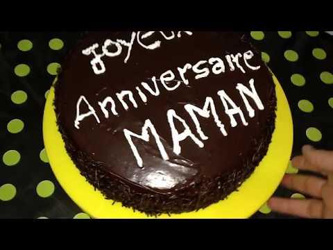 gâteau-au-chocolat-pour-l'anniversaire-de-maman-كعكة-الشكولاطة-لعيد-ميلاد-الأم