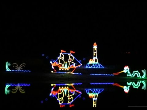 Tanglewood Festival of Lights, Clemmons, NC December 4th, 2015