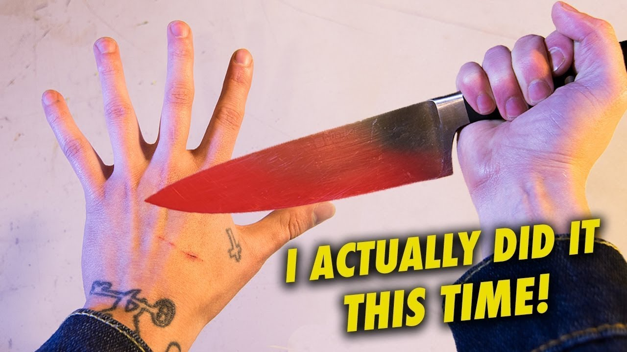 1000 DEGREE Knife Game Song!
