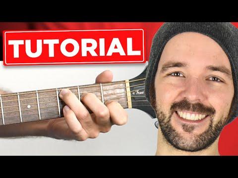 Viva La Vida - Coldplay - Guitar Lesson - Gitarre lernen - mit & ohne Capo