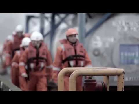 Offshore safety and survival training in Esbjerg, Denmark