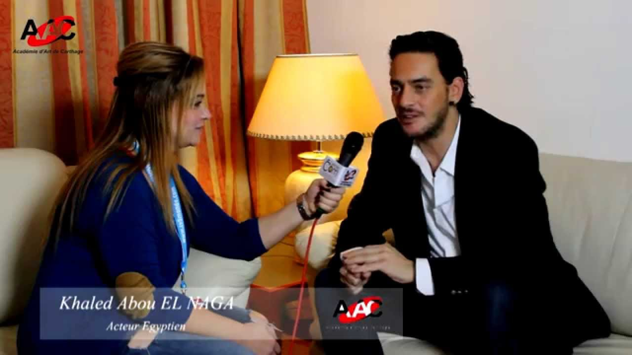 interview avec l acteur egyptien khaled abou naga youtube