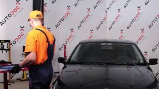 Stikla tīrītāja slotiņa uzstādīšana BMW 3 Compact (E36): bezmaksas video