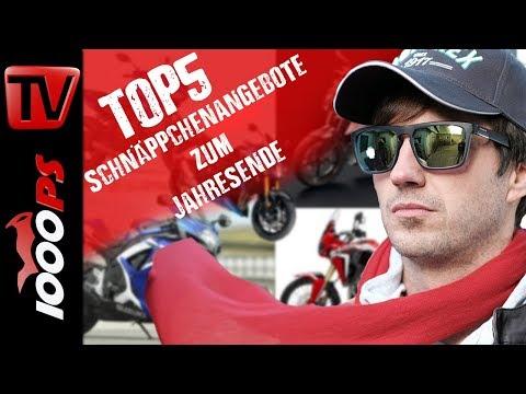 Top 5 - Schnäppchenangebote zum Jahresende - Großartige Motorräder um wenig Geld kaufen