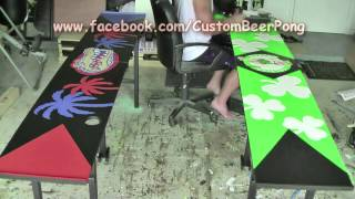 Fastest Beer Pong Table Making