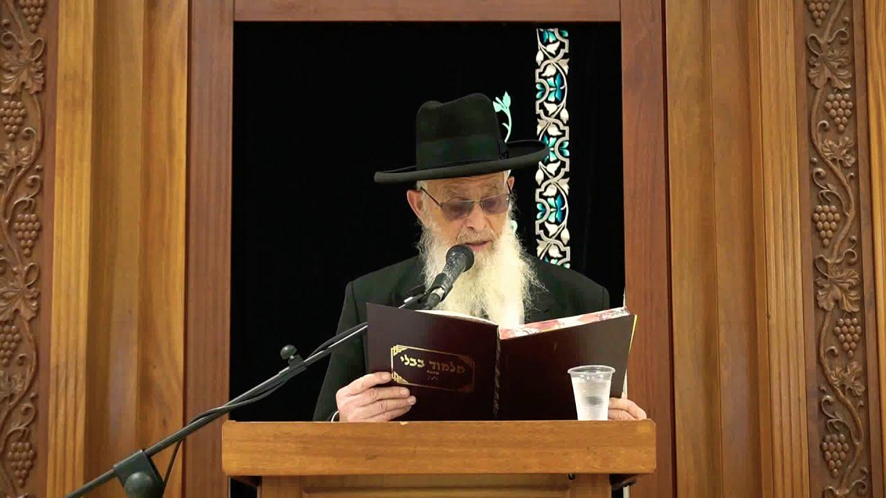 עדות בשטר - שיעור כללי במסכת גיטין - הרב יעקב אריאל
