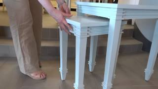 Hgtv Furniture Accents Nesting Tables 6a70-g604 Review