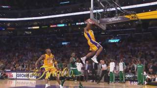 Los Angeles Lakers 2010 Game 6 Finals Dunks (Jordan Farmar & Shannon Brown)