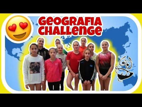 GEOGRAFIA CHALLENGE chi è più veloce? ginnastica artistica CSB