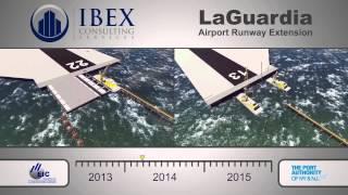 LaGuardia Airport Runways - 4D Construction Simulation