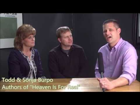 """""""Heaven Is For Real"""" Keith Ferrin's Interview with Todd and Sonja Burpo"""