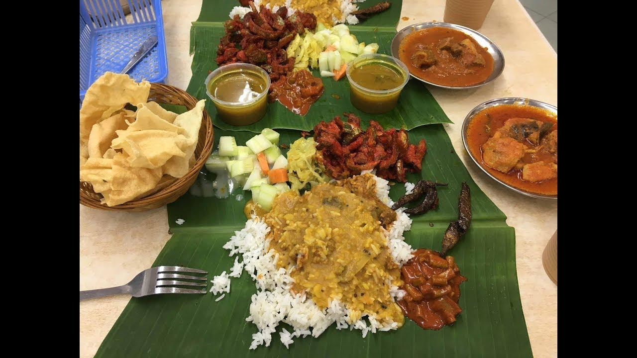 Banana Leaf Rice Sri Nirwana Maju Bangsar Kuala Lumpur Youtube