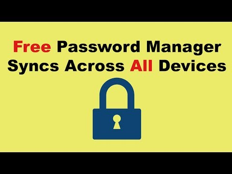 Free Password Manager - Syncs Across All Devices