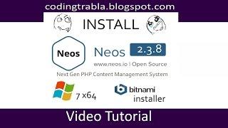 Install NeosCMS 2.3.8 on Windows 7 via  bitnami installer - opensource PHP CMS byAO Mp3