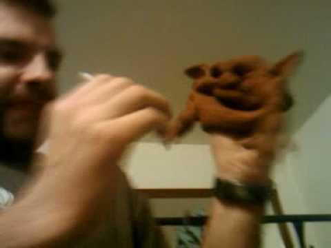 Hoblin-Goblin Smokes a Cigarette.3gp