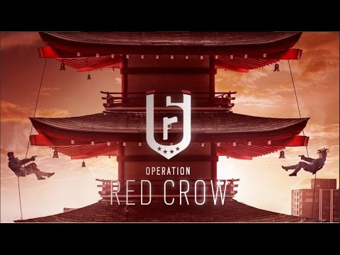 Rainbow Six Siege JAPANESE MAP NEW DETAILS INFO STORY Nagoya - Japan map red