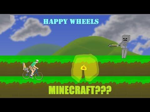 Happy Wheels | MINECRAFT??? [8. rész]