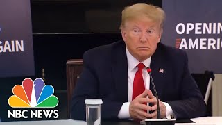 Trump: George Floyd's Family 'Is Entitled To Justice' | NBC News NOW