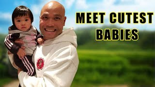 Meet Cutest babies Ever in a Life of Wing Chun Master