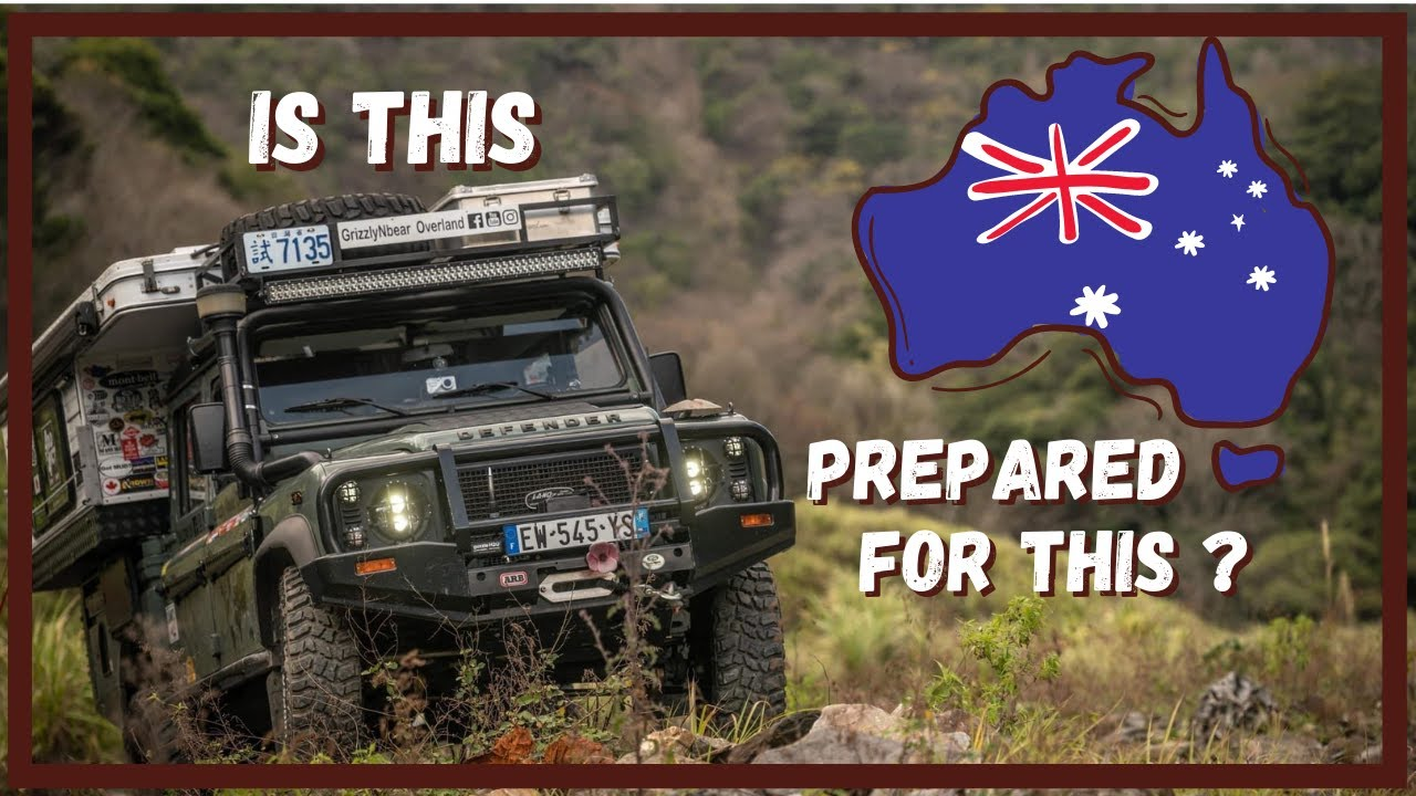 Modifying our Land Rover Defender for the Australian Outback. Are we ready?