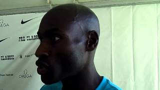 2013 Prefontaine Classic: Bernard Lagat Mixed Zone