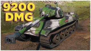 AMX M4 49 • 9200 DAMAGE • WoT Gameplay