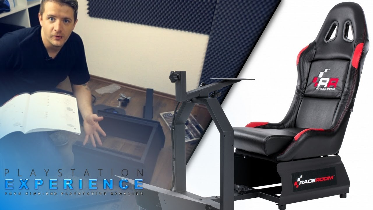 AUFBAU RaceRoom Game Seat RR3055 #SimRacing #Racingseat / Playstation  Experience