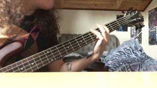 Nails - Unsilent Death - Bass Cover
