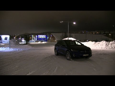 How fast can a Tesla Model X reverse?