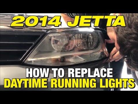 vw jetta daytime running lights not working