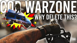 Call of Duty Warzone - Why delete this?