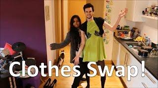 Shaaba and Jamie: Girlfriend Boyfriend Clothes Swap Challenge
