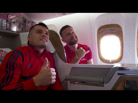 Why Arsenal love to visit Dubai | Emirates Airline