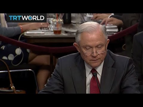 Jeff Sessions grilled by Senate Intelligence Committee