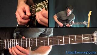 The Best of Times Guitar Lesson Pt.3 - Dream Theater - Solo