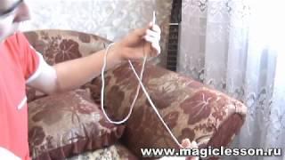 Секрет фокуса с веревкой